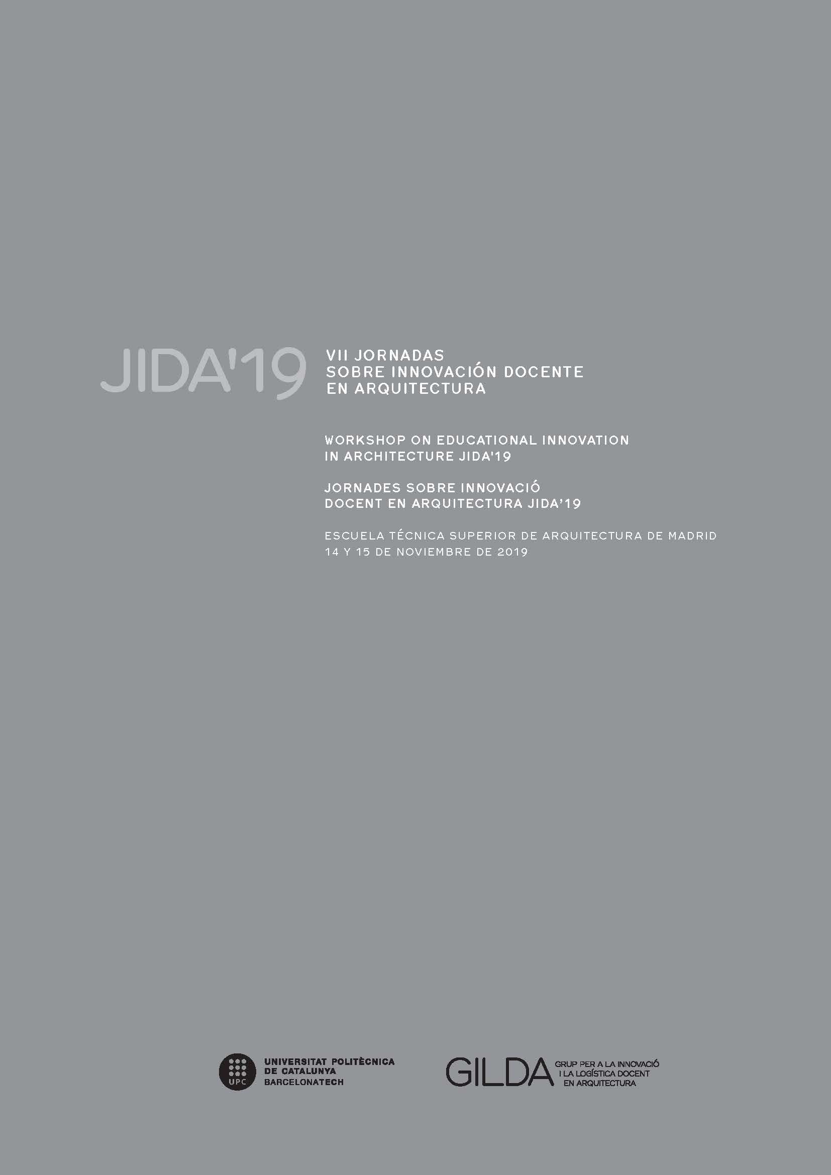 Ver JIDA'19